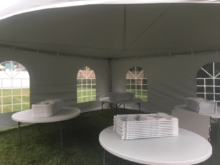Cathedral Window Tent Walls